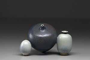 Three Fused Friberg Vases