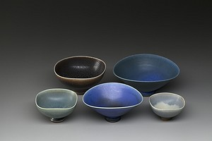 Group of Small Friberg Bowls