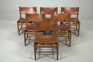 Set of six Mogensen Chairs