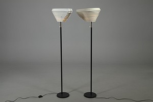 "Two Aalto ""Angel Wing"" Lamps A805"