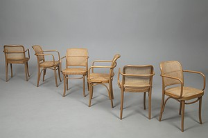 Six Bentwood Chairs