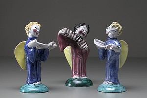 Three Angel Figures