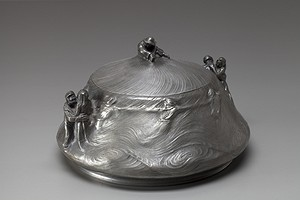 Pewter Bowl and Lid