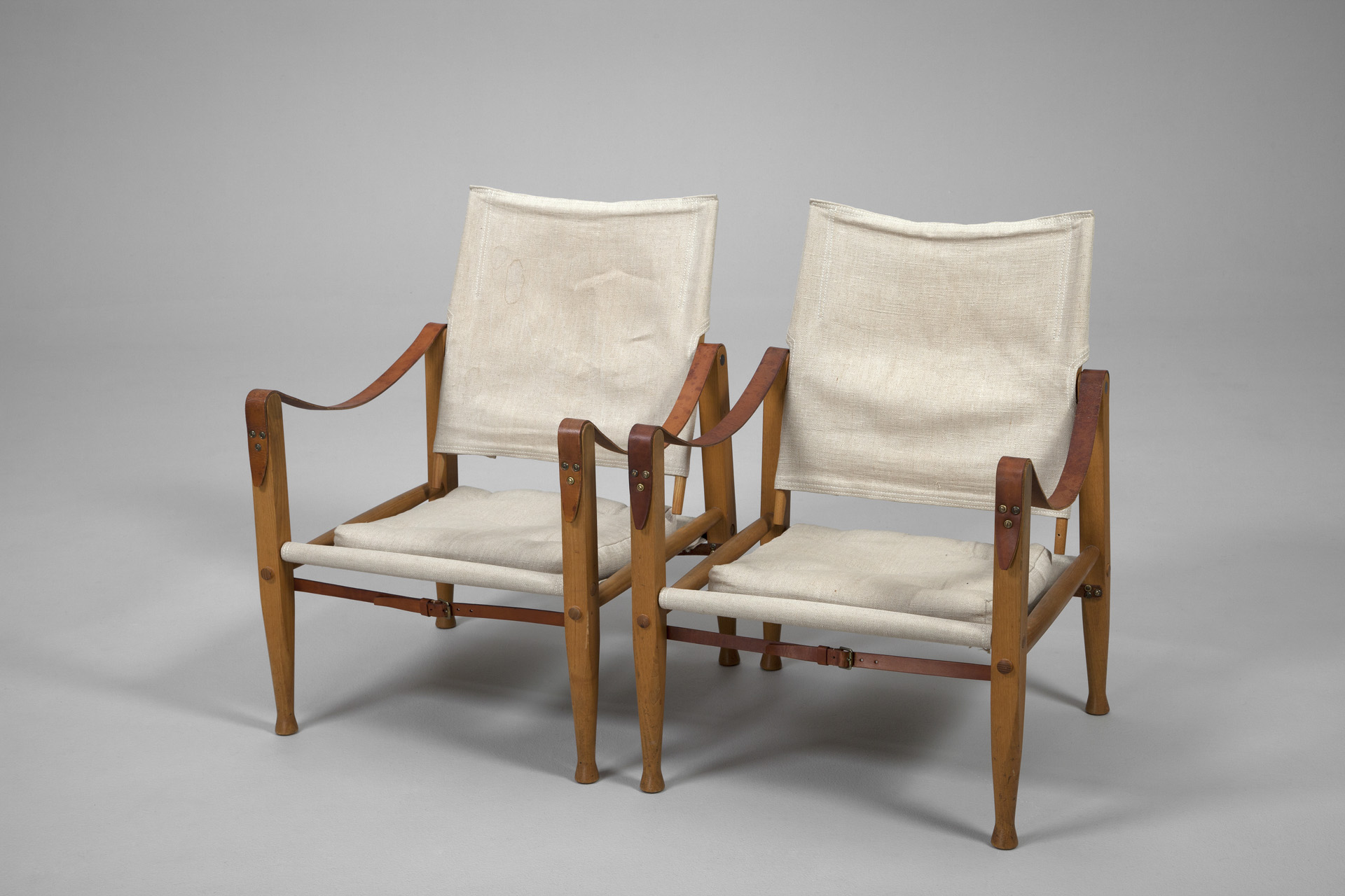 Jacksons Pair of Safari Chairs Kaare Klint