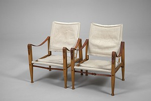 Pair of Safari Chairs