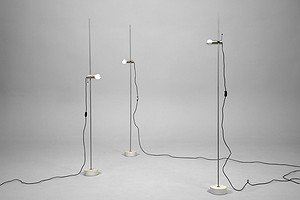 Three Tito Agnoli Floor Lamps