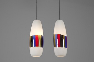 Pair of Vistosi Lamps