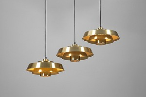 "Three ""Nova"" Ceiling lamps"