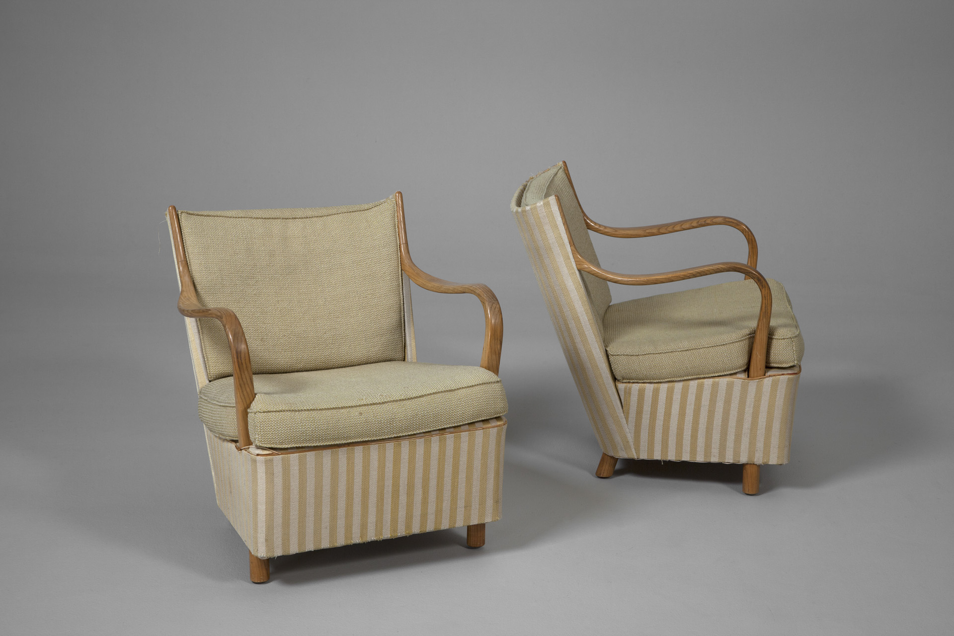 Pair of Early Armchairs