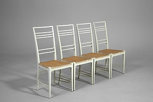 Set of Four Chairs, model Poem
