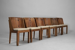"Axel Einar Hjorth Set of Ten ""LOVÖ"" Dining Chairs"