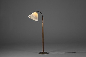 Mahogany Floor Lamp