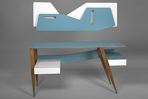 Gio Ponti Desk & Shelf