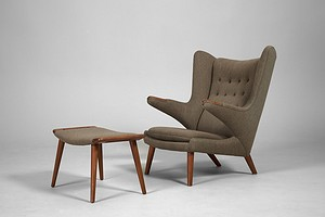 'Papa Bear' Armchair and Stool