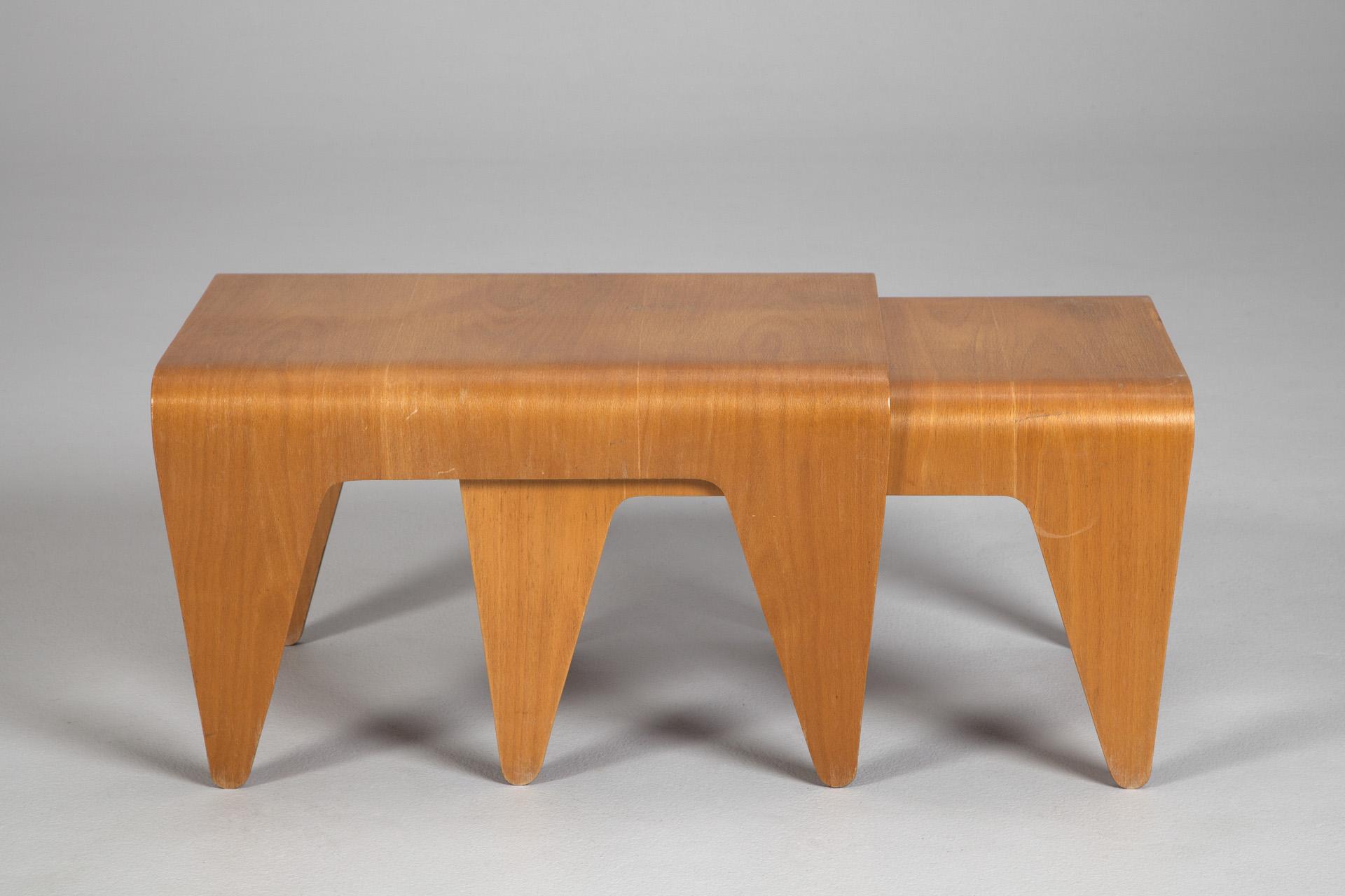 Elegant Two Sets Nesting Tables