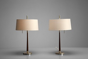 Pair of Gunnar Asplund  Table Lamps