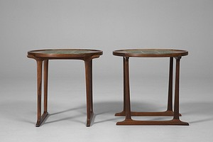 Pair of Jens H. Quistgaard Tray Tables