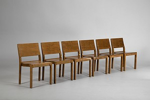 Stackable Model 611 Aalto Chairs