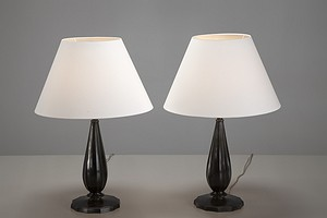 Pair of Just Andersen Table Lamps