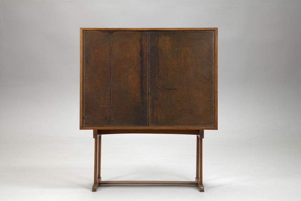 Josef Frank Leather Cabinet