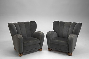 Märta Blomstedt Pair of Armchairs