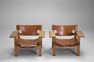 "Pair of ""The Spanish Chair"""