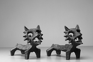 Cast Iron Fire Dogs