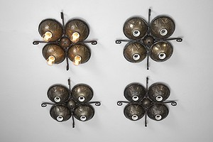 Set of Four Lamps