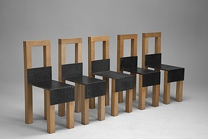 "Set of Five ""Sto"" Chairs"