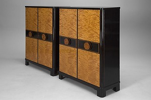 Pair of Otto Schultz Cabinets