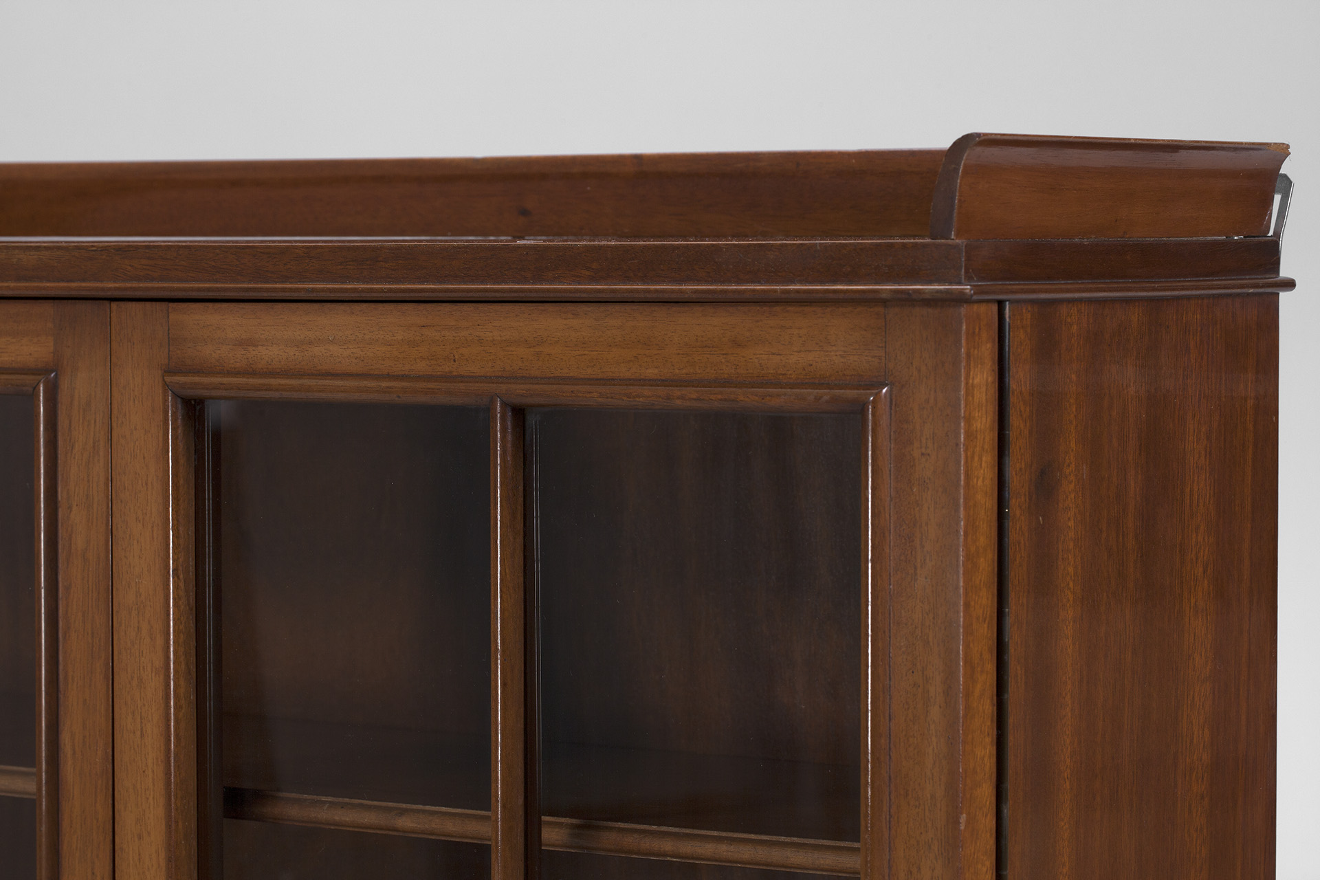 Danish Neoclassical Wall Cabinet