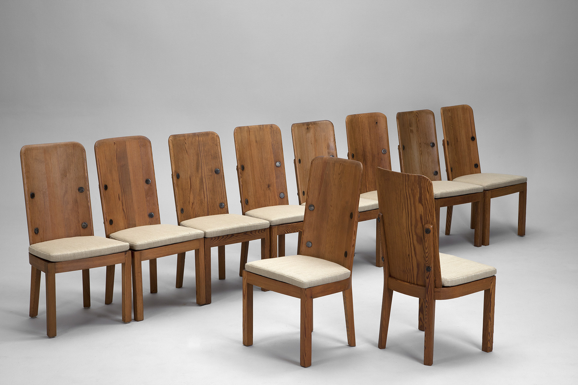 Set of Ten 'Lovö' Chairs
