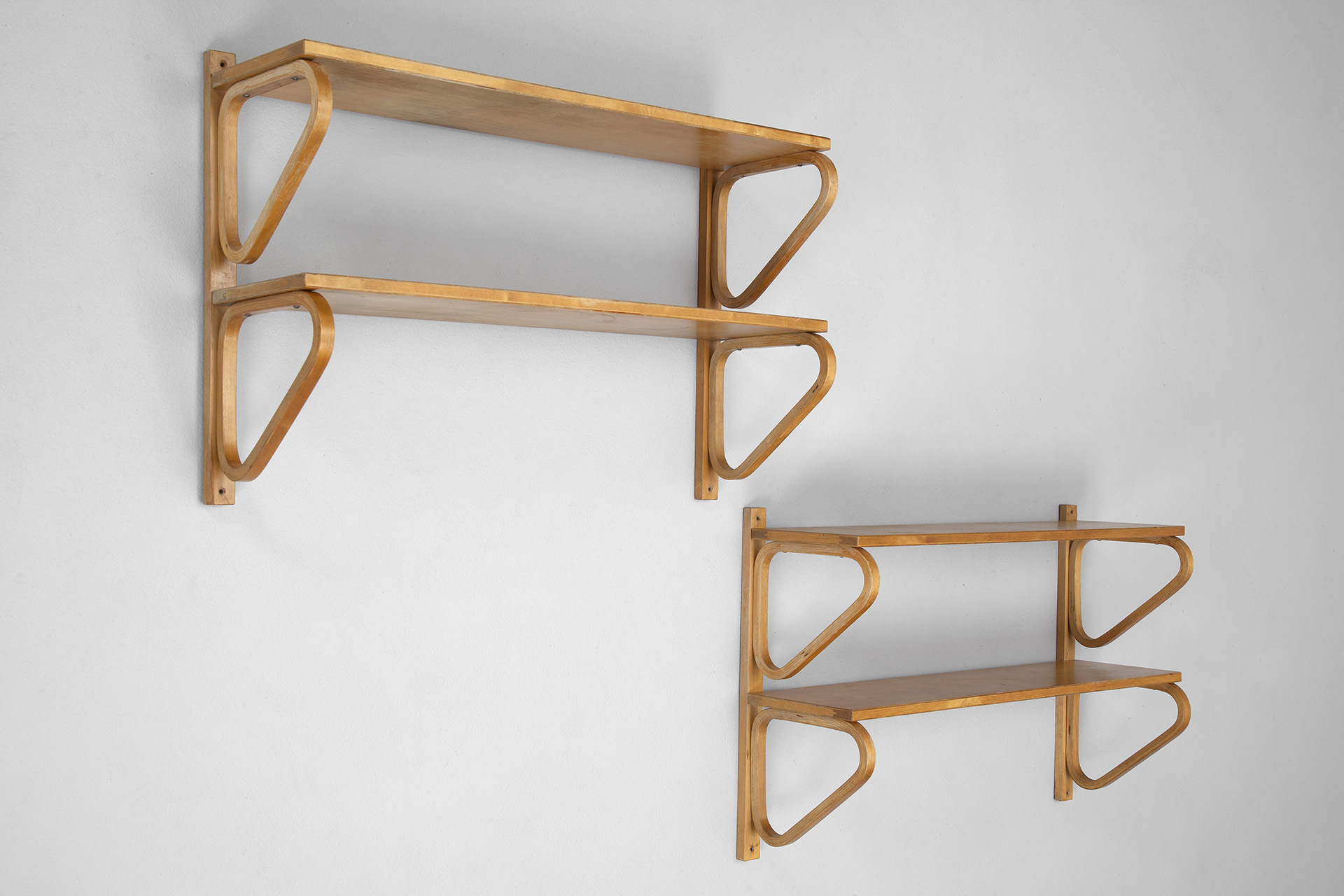 Pair of Aalto Shelves