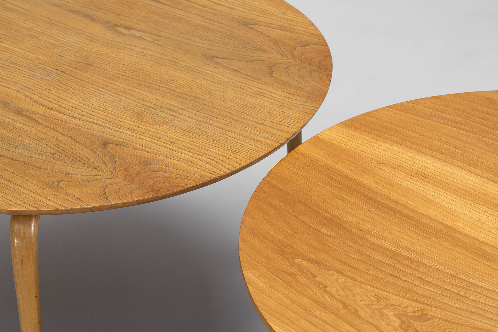 Four Bruno Mathsson Tables