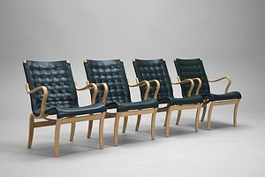 "Set of Four ""Mina"" Armchairs"