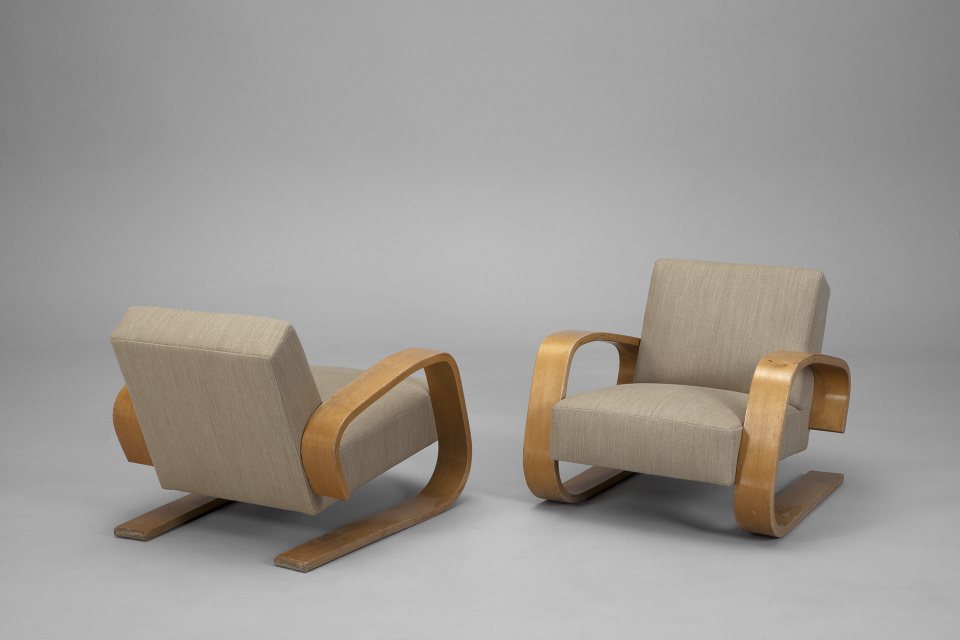 Pair of 'Tank Chairs'