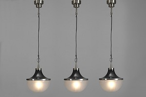 "Three ""Pi Cavo"" Ceiling Lamps"