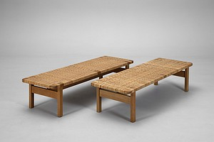 Pair of Børge Mogensen Benches