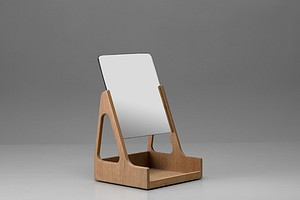 Hans J. Wegner Table Mirror