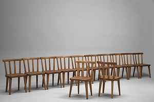 "Twelve ""Utö"" Dining Chairs"