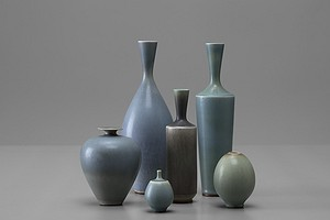 Group of Friberg Vases