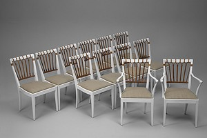 Twelve Dining Chairs