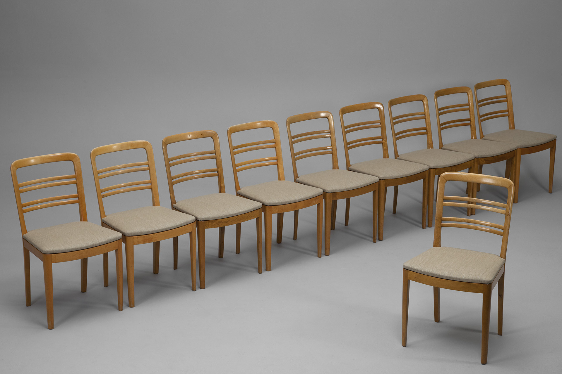 Set Of Ten Chairs