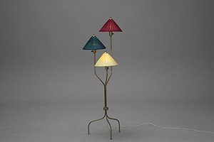 China Hat Floor Lamp