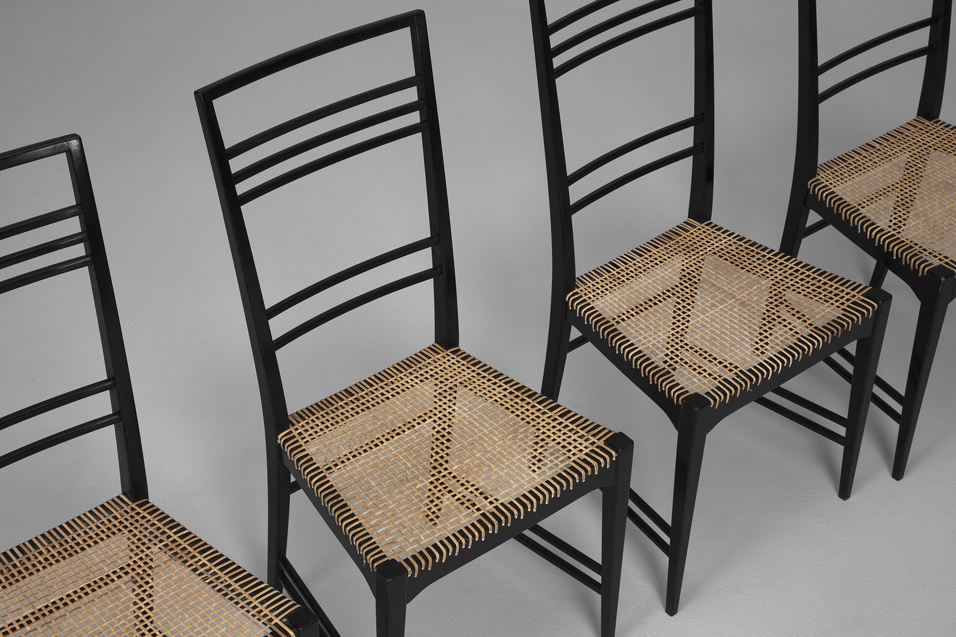 Set of Four 'Poem' Chairs