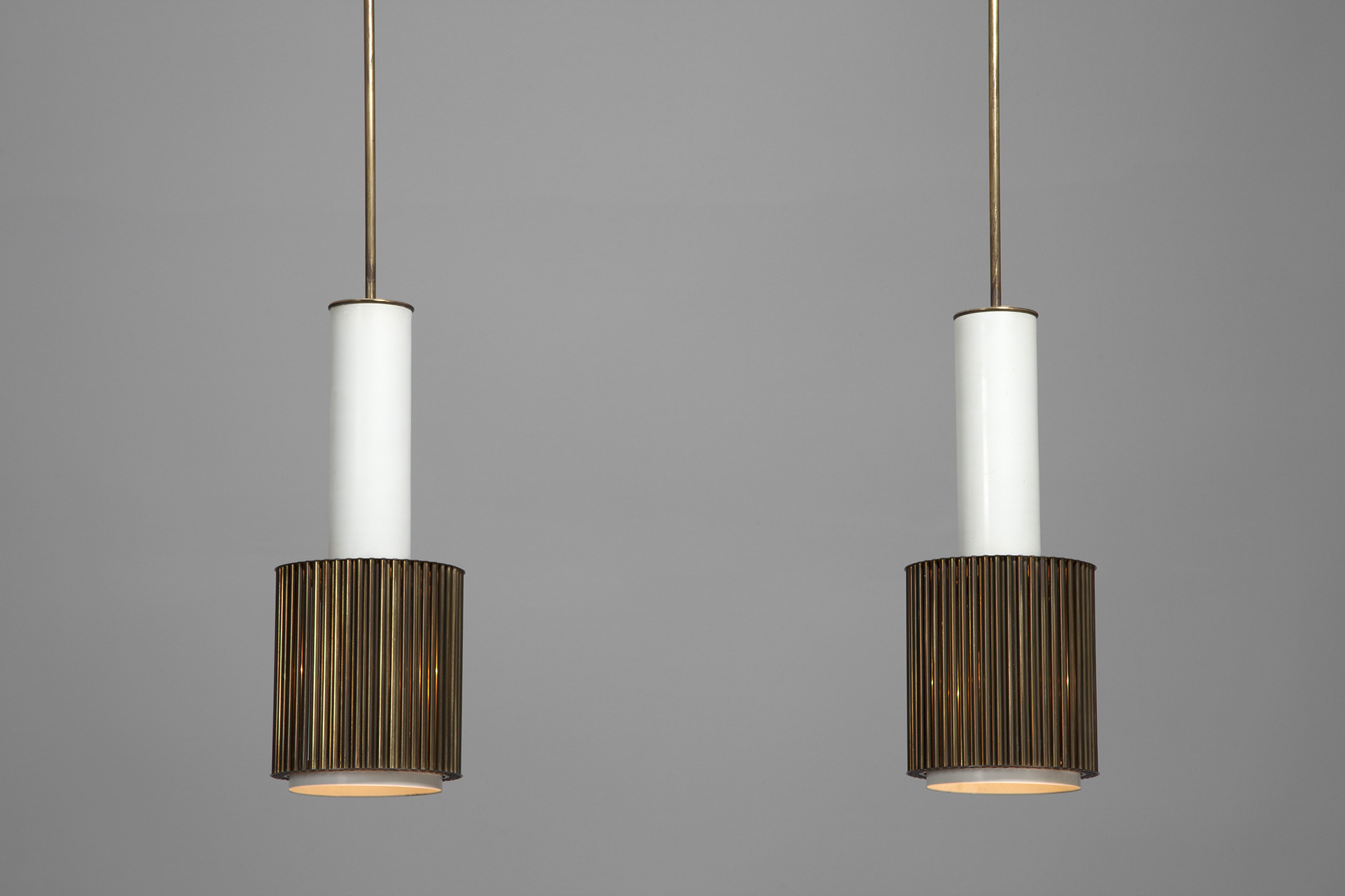 Pair of Ceiling Lamps 'Hand Grenade'