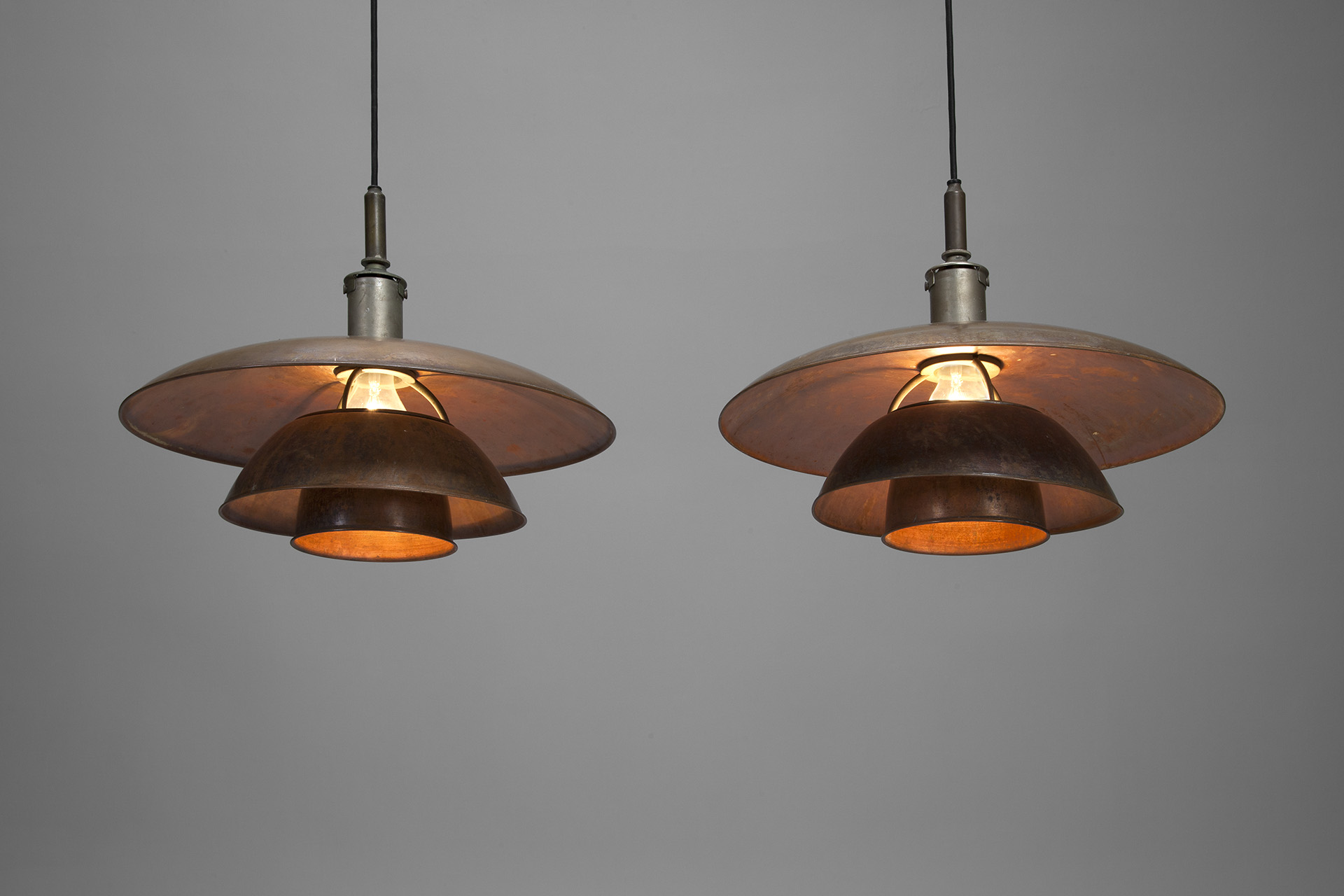"Pair of Ceiling Lamps ""PH -5/5"""