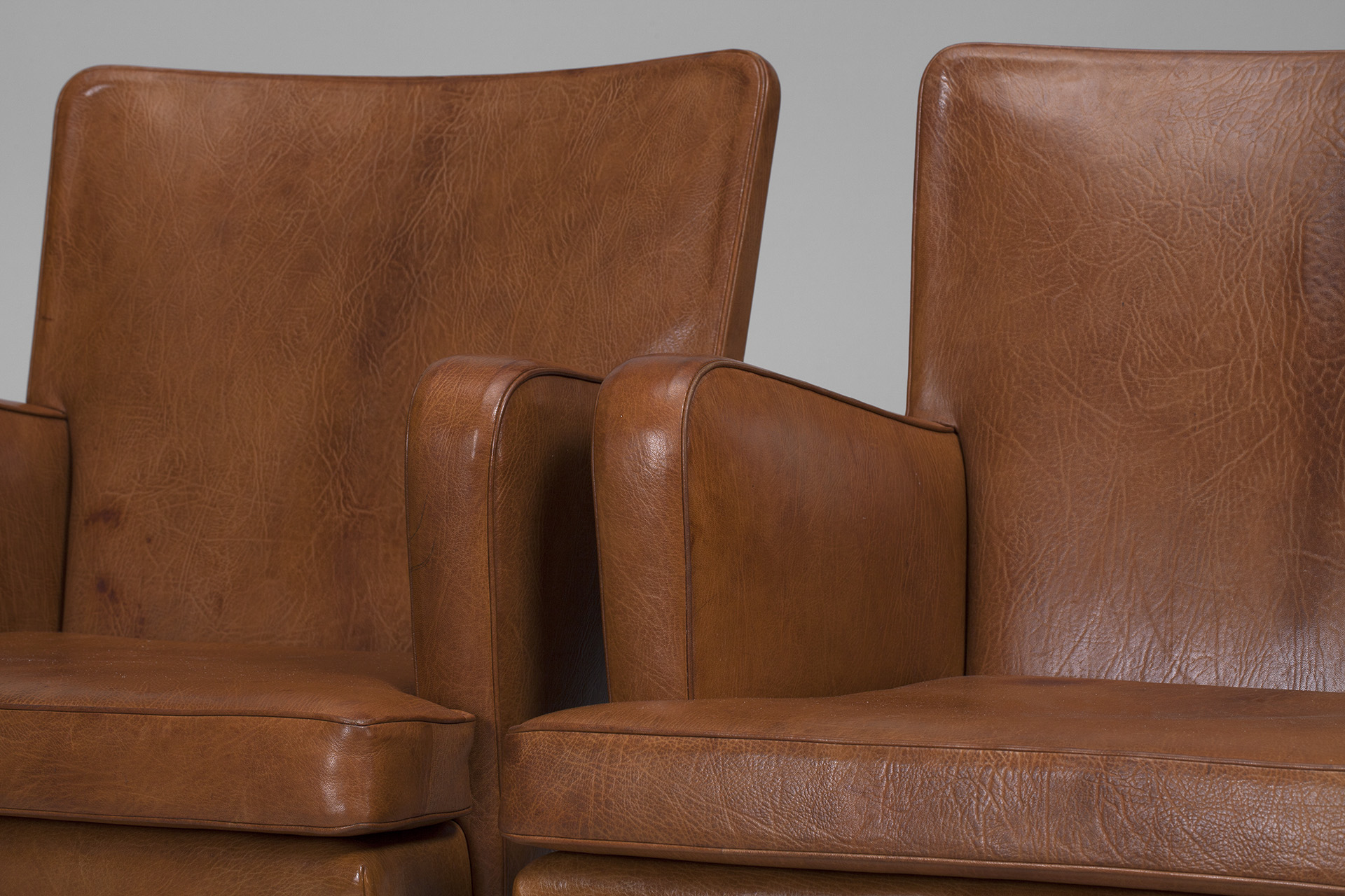 "Pair of ""Easy"" Armchairs"