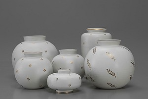 "Group of ""Carrara"" Vases"