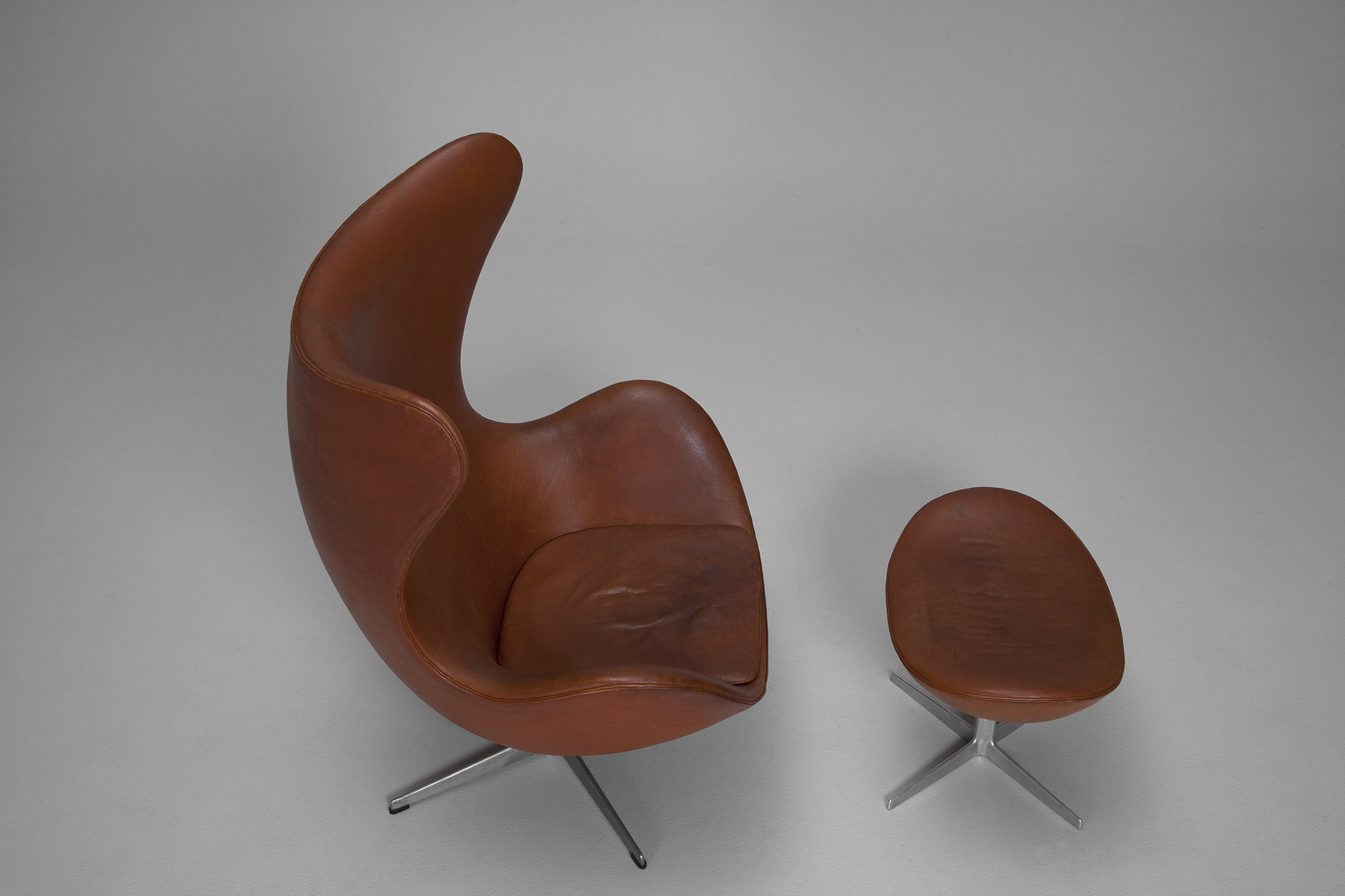 Egg Chair and Stool